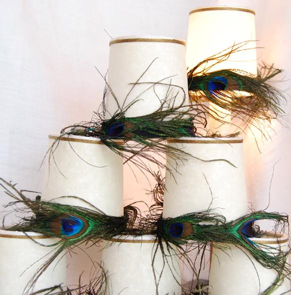 peacock hats