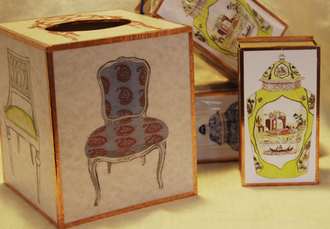 Chairs + Ginger Jars = A fun project with Anne Harwell