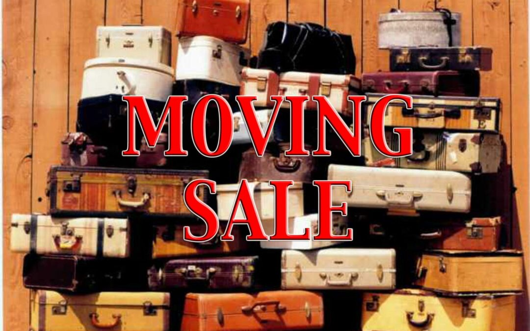 Moving Sale!!!!! Christmas in July